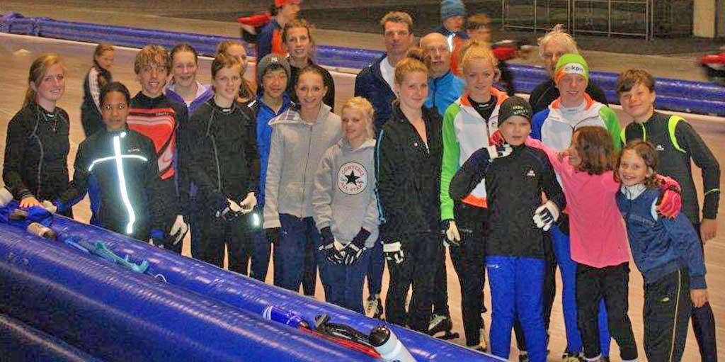 zomerschaatsen groep2013-2